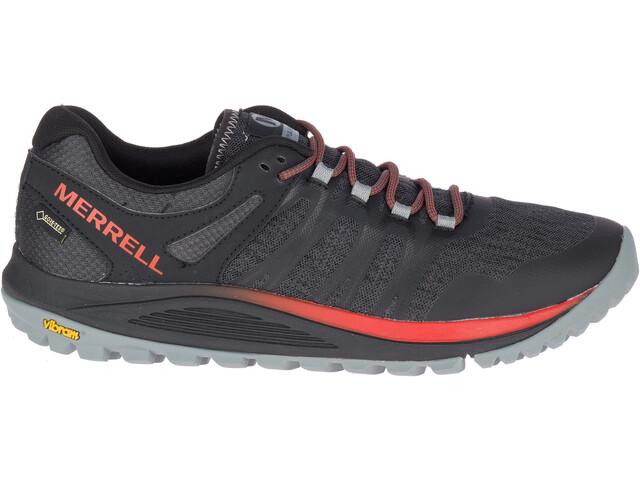 Merrell Nova GTX Løbesko Herrer rød/sort (2019) | Running shoes